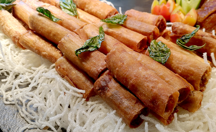 Pork Fried Spring Rolls