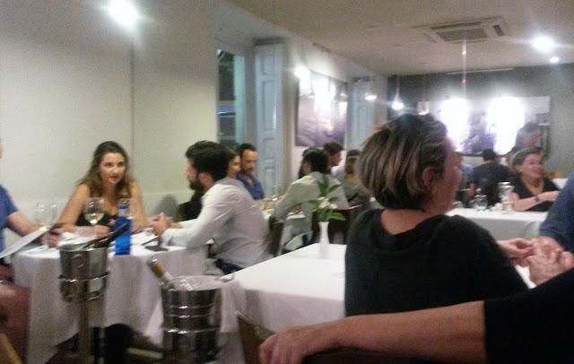 Comedor, en el Tiradito Madrid