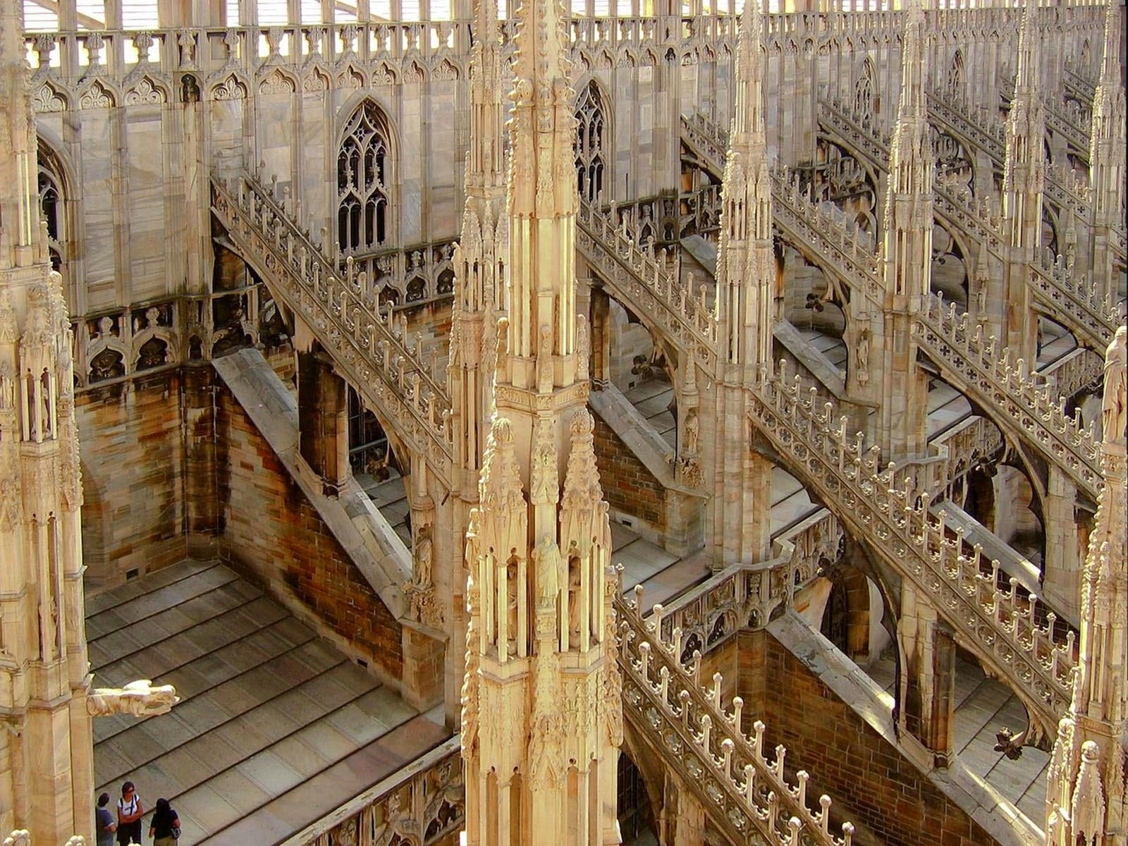 Wallpapers Roof Of Milan Cathedral Wallpapers