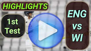 ENG vs WI 1st Test 2020