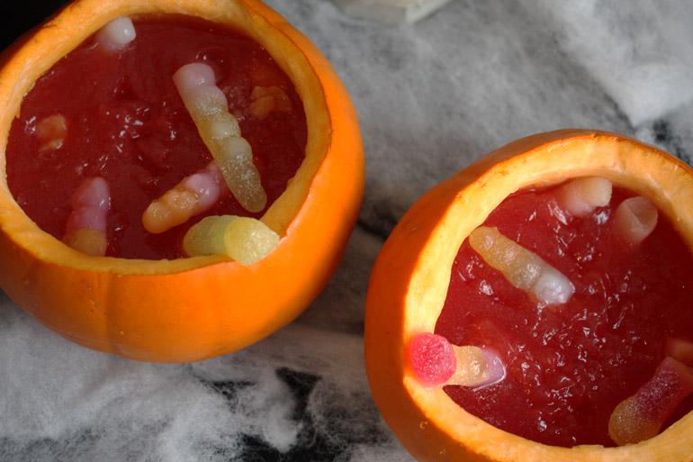 pumpkin halloween vegan jelly