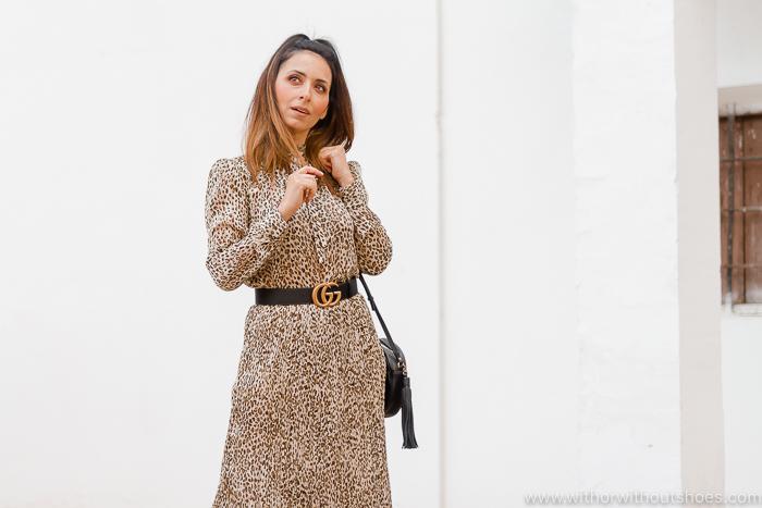 Cómo combinar un vestido en Estampado animal o animal print