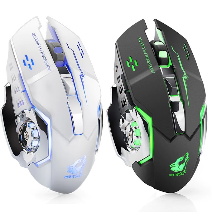 Rechargeable X8 Wireless Gaming Mouse