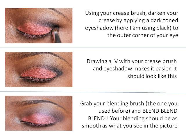 Basic eye makeup
