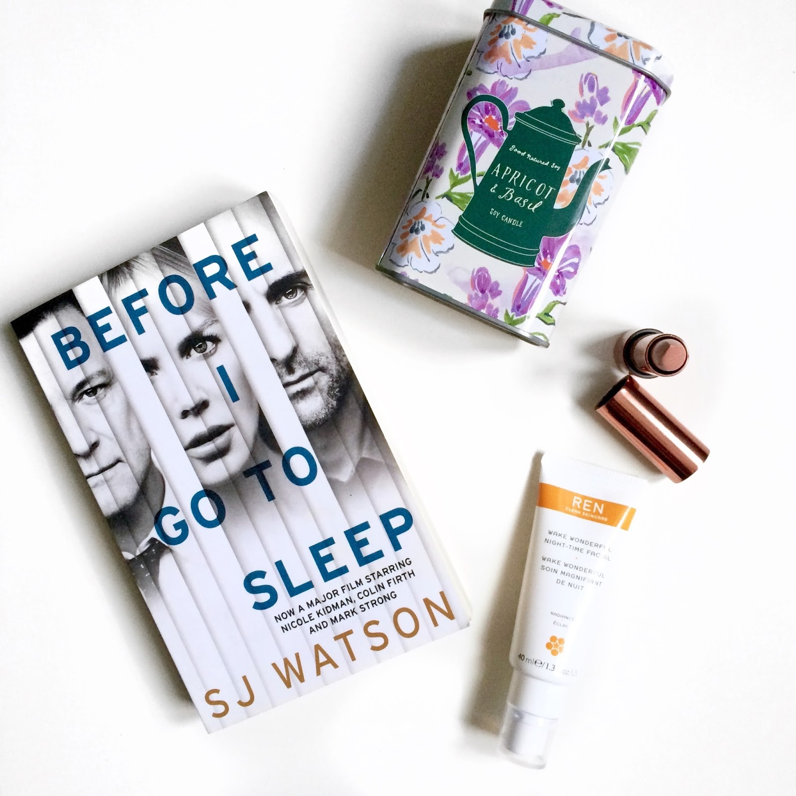 She's So Lucy Loves Lately Before I Go To Sleep Blogger Update Health Blogger UK United Kingdom Beauty Apricot Basil Anthropologie