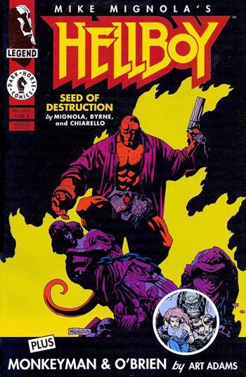 Hellboy es un superhéroe de Mike Mignola