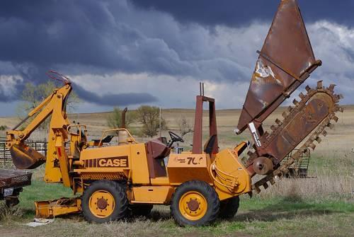 drainjetting preston lancashire: Drainage trencher HIRE CASE