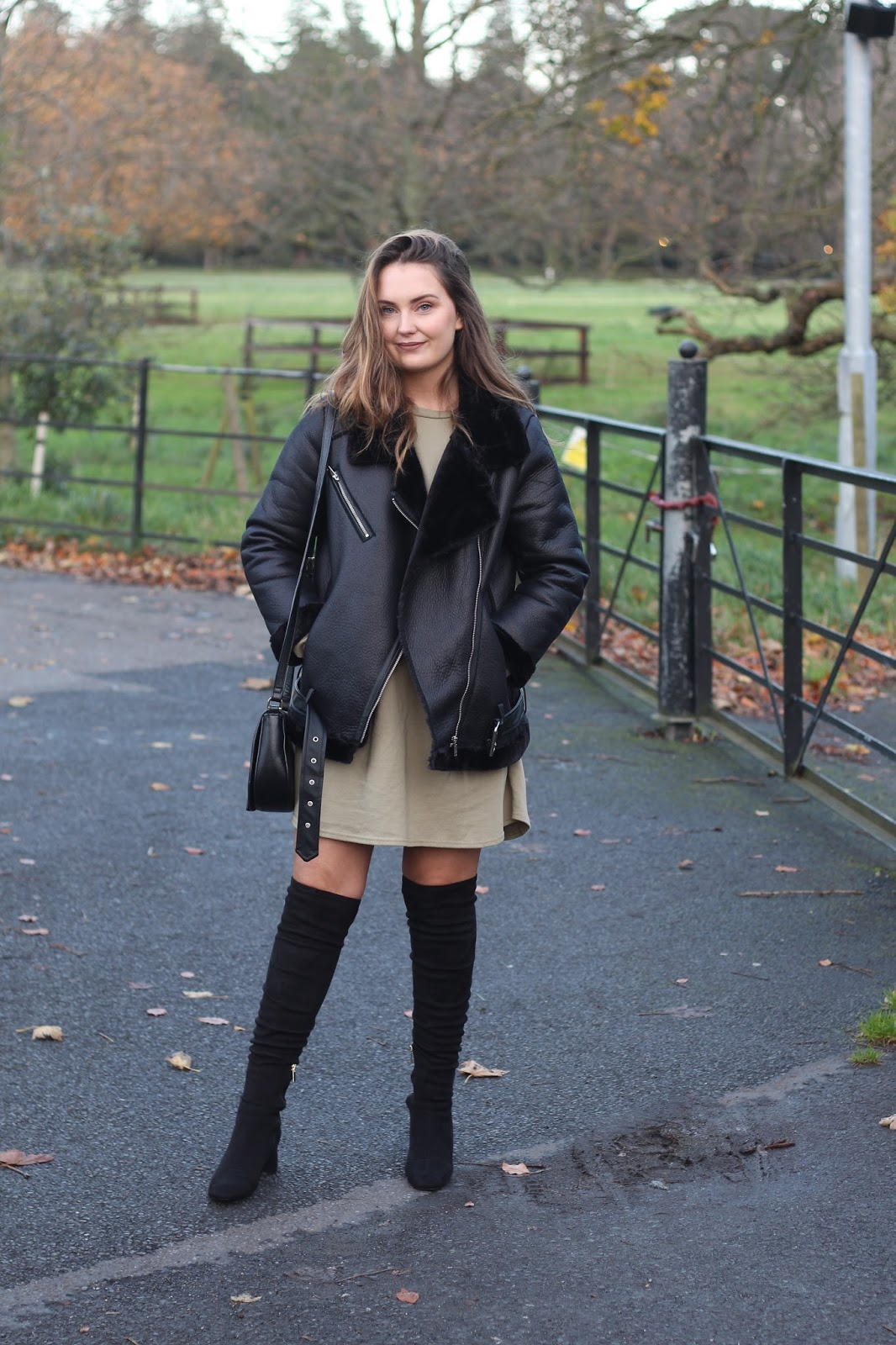 How to Style Dresses for Winter With PLT