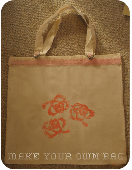Make your own fabric painted bags