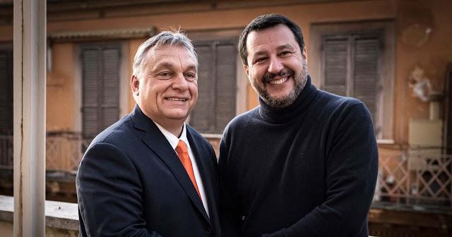 """Orbán Viktor üzenete Salvininek: """"Barátom, folytasd a küzdelmet!"""""""
