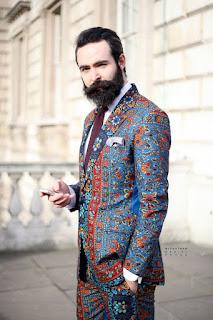 model Blazer Batik pria