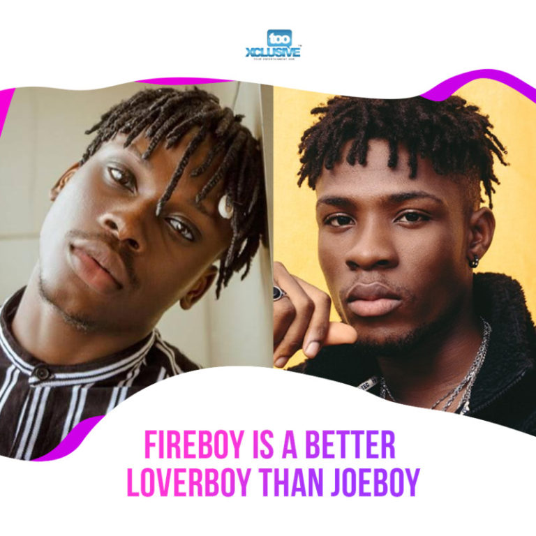 Fireboy Is A Better Serenade King/ Loverboy Than Joeboy… My Thoughts #Arewapublisize