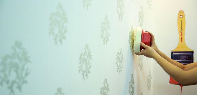 Sơn họa tiết sẽ tiễn giấy dán tường vào hoài niệm?