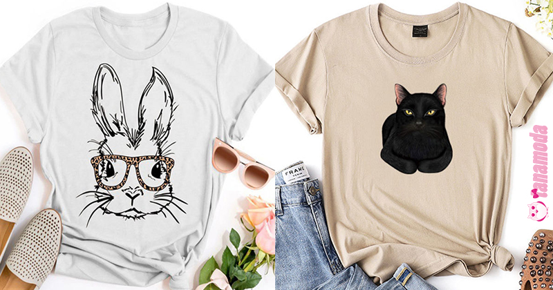 Cute T-Shirts with Animal Prints