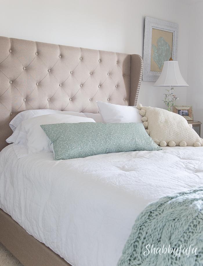 upscale coastal bedroom