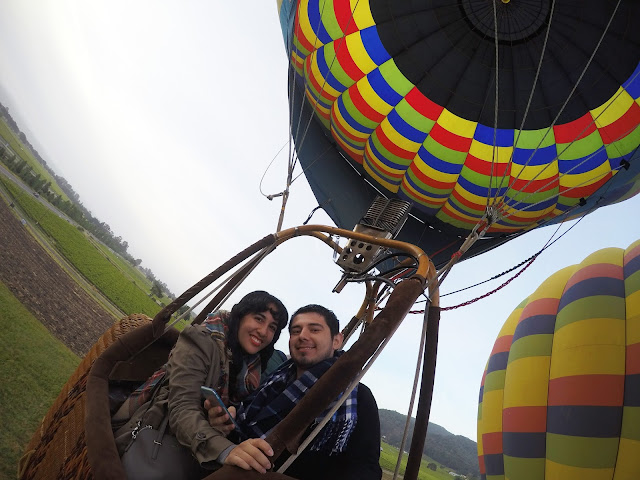 Napa Private Hot Air Balloon Ride and Brunch Engagement