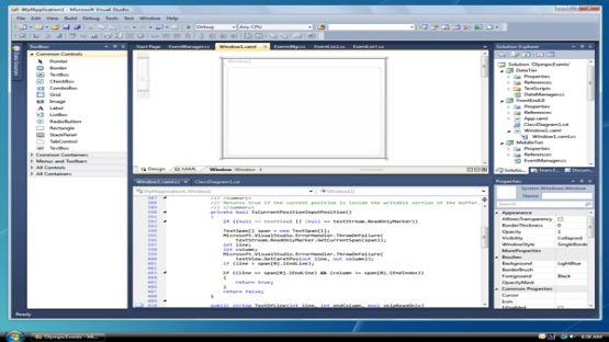 Visual Studio 2010 screenshot 3