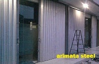 Harga folding gate & rolling door murah