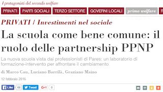 http://www.secondowelfare.it/privati/investimenti-nel-sociale/la-scuola-come-bene-comune.html