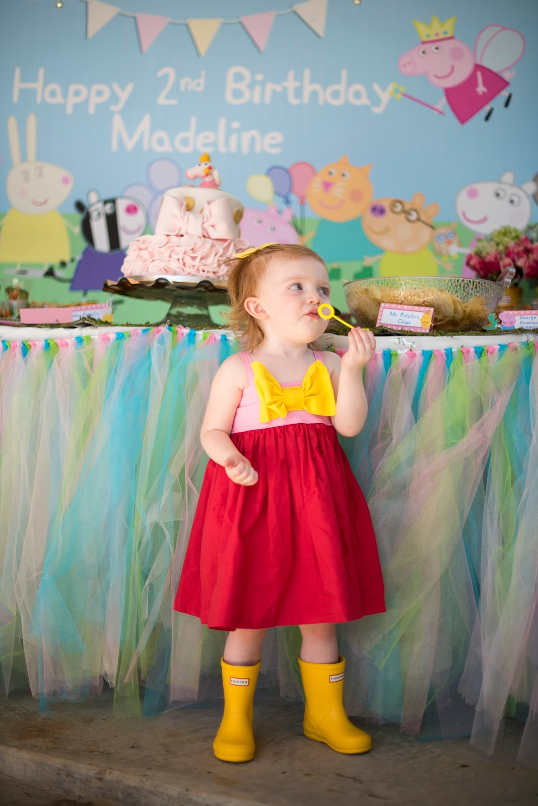 How to plan a Peppa Pig birthday party - Click through to see more on Something Delightful Blog