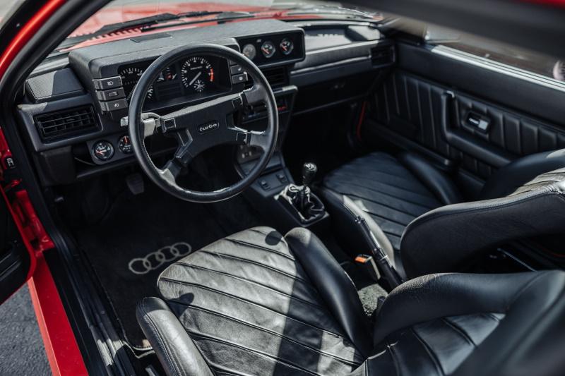 1983 Audi Quattro Interior