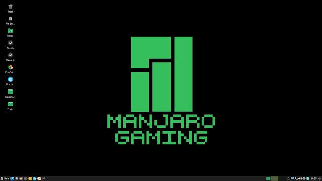 Manjaro Linux Gaming 16.06 projetada para Gamers