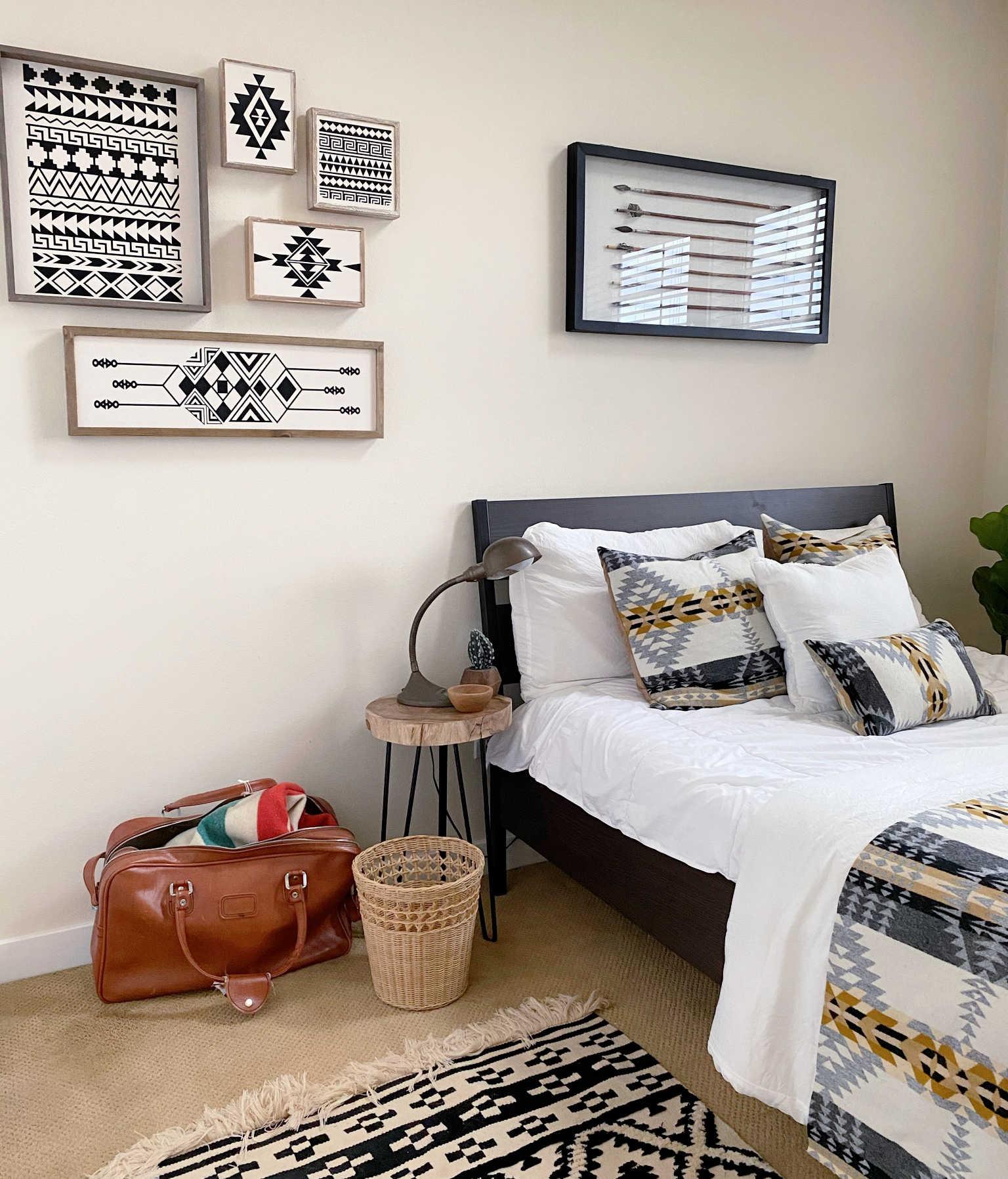 boho home decor with cricut