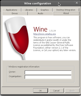 Lindqvist -- a blog about Linux and Science  Mostly : wine 1 5 19
