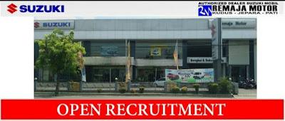 Dealer Mobil Suzuki PT. Remaja Adidaya Motor Kudus Membuka Lowongan Kerja