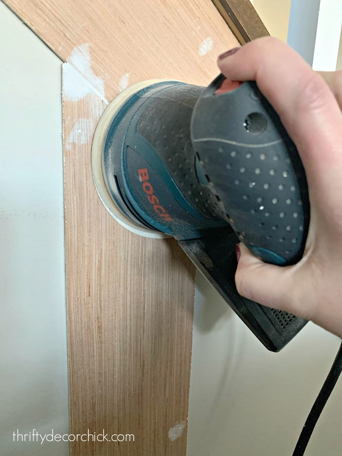 Best sander for installing trimwork