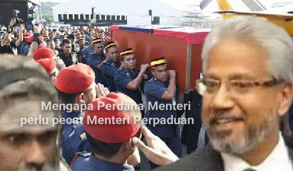 Mengapa Perdana Menteri perlu pecat Menteri Perpaduan