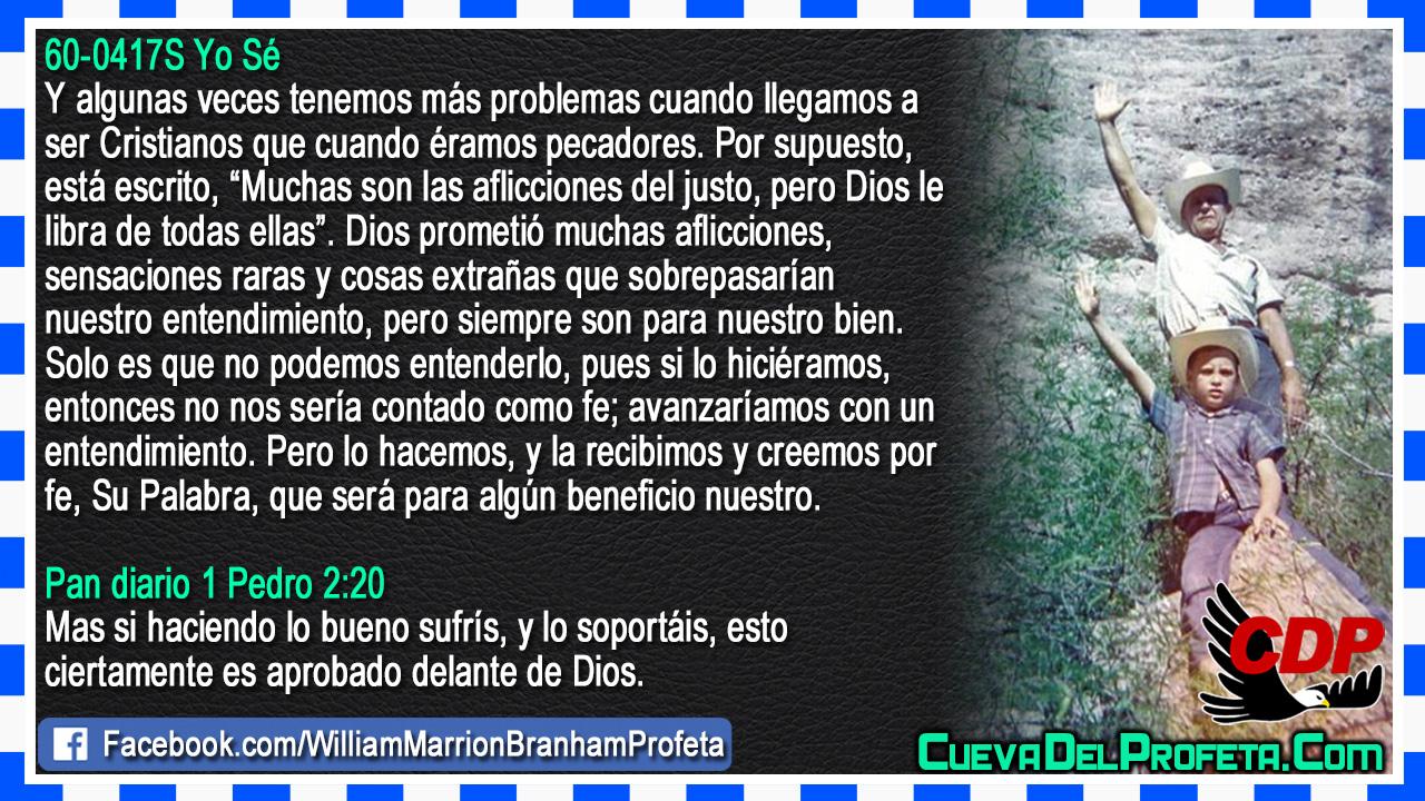 Muchas son las aflicciones del justo - William Branham en Español