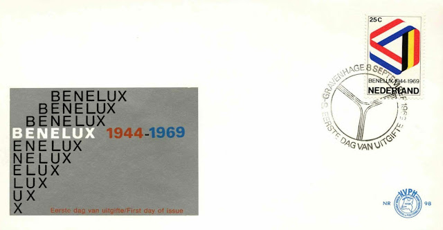 Netherlands 1969 Benelux First Day Cover