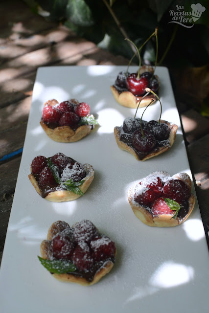 Tartaletas de frutos rojos y chocolate las recetas de tere 05