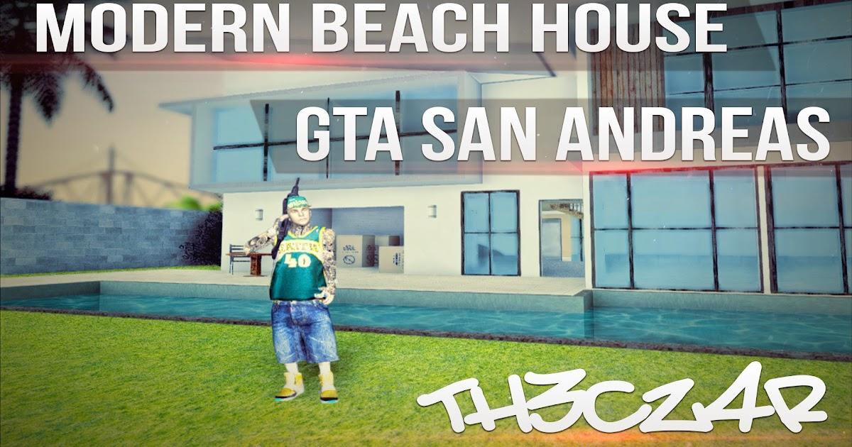 Modern beach house casa moderna en la playa mod hd for Casa moderna 4x4