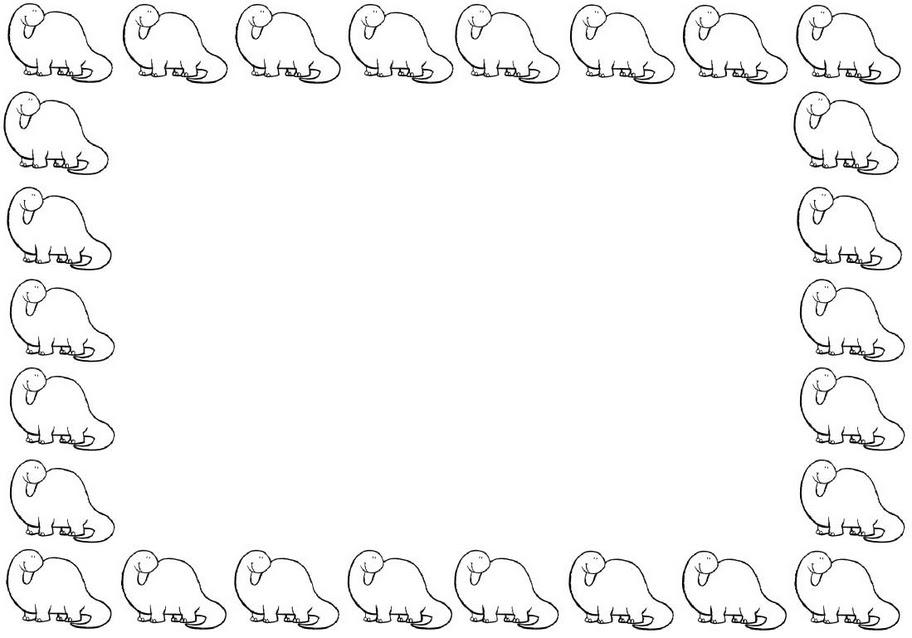 Esos Locos Bajitos De Infantil Marcos De Dinosaurios