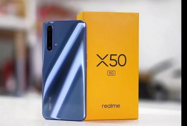 Realme X50 5G स्मार्टफोन ने मार्केट में दी दस्तक