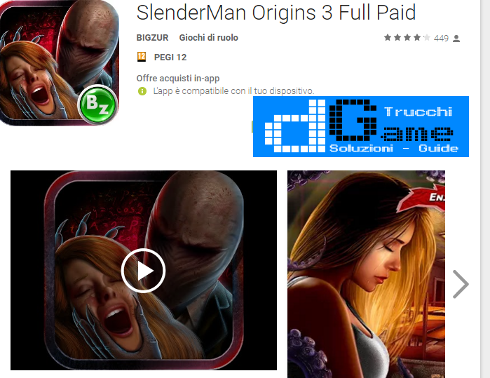 Trucchi SlenderMan Origins 3 Full Paid Mod Apk Android v1.291