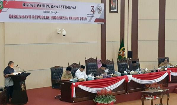 DPRD Kota Medan Bersama Pemko Setujui P-APBD Kota Medan