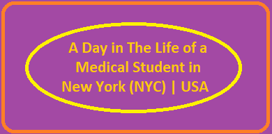 A Day In The Life of a Medical Student in New York (NYC) | USA