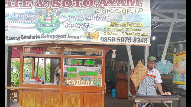 Sate Ayam Paling Enak di Tangerang Selatan