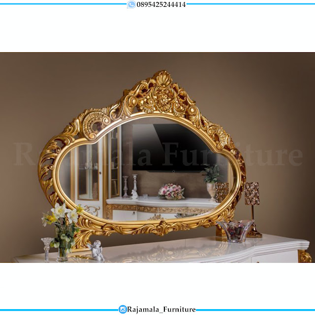 Harga Cermin Hias Ukir Luxury Carving Golden Sunset Color RM-0404