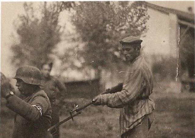 Cuando una imagen no vale más que mil palabras: ¿La venganza del prisionero judío?