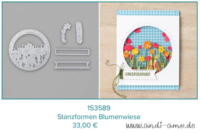 Stampin Up Stanzformen Blumenwiese