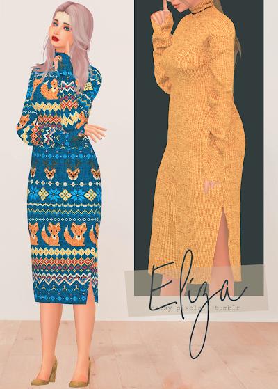 - ̗̀ Eliza Dress ̖́- (TS4)