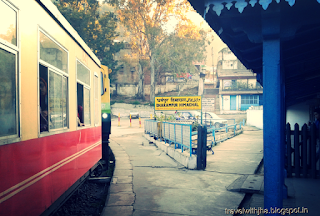 Toy Train At Dharanpur
