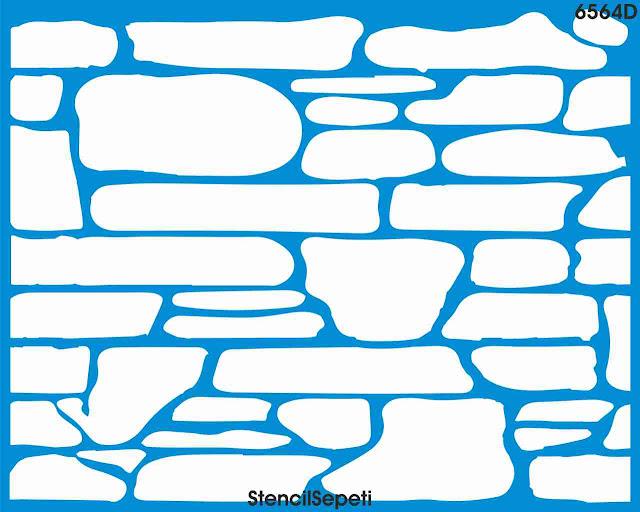 Трафарет для имитации каменной кладки Симферополь