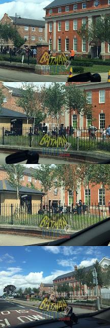 Wayne Manor Terlihat di Lokasi Syuting Film Justice League?