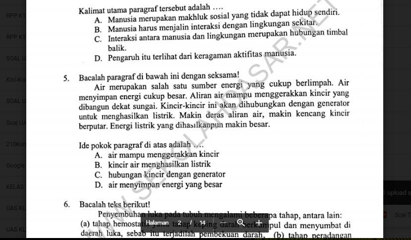 19++ Ujian praktek bahasa jawa kelas 6 2021 info