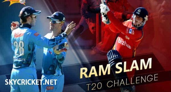 Ram Slam T20 Challenge 2017 Points Table